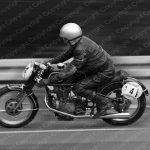 Poster Motorrad Oldtimer Rennen