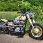 Poster Harley Davidson in Top HDR Qualität