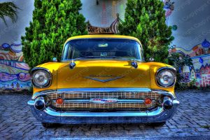 Poster Chevrolet Bel Air