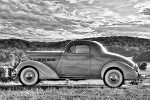 Poster US Car Packard in Top HDR Qualität
