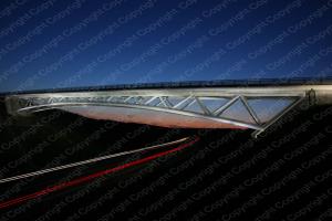 Poster Autobahnbrücke